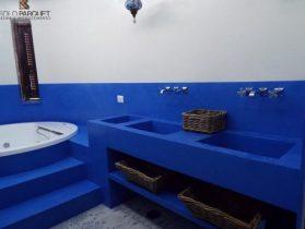 Parquet resine e microcemento