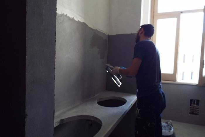Costo pavimento rivestimento in microcemento